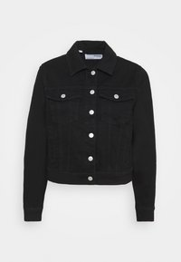 SLFKENNA JACKET - Denim jacket - black denim