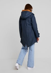 Derbe - TRAVEL FRIESE CHECK GIRLS - Waterproof jacket - navy - 2