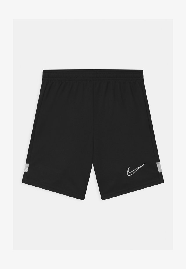 ACADEMY UNISEX - Sports shorts - black/white