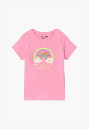 SMALL GIRLS RAINBOW - T-shirt z nadrukiem - azalee