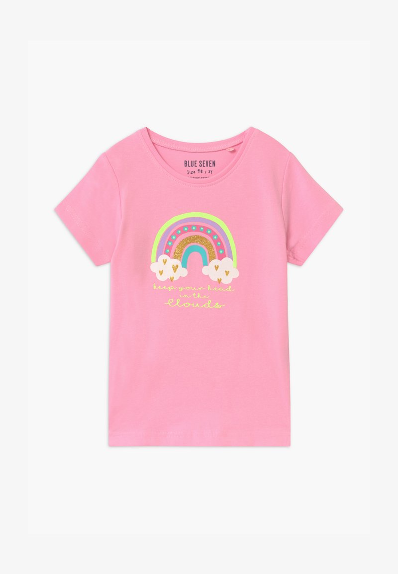 Blue Seven - SMALL GIRLS RAINBOW - T-shirt print - azalee