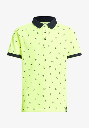 Polo shirt - bright yellow