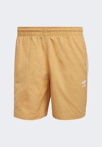 adidas Originals - ADICOLOR CLASSICS 3-STRIPES SWIM SHORTS - Shorts da mare - orange - 6