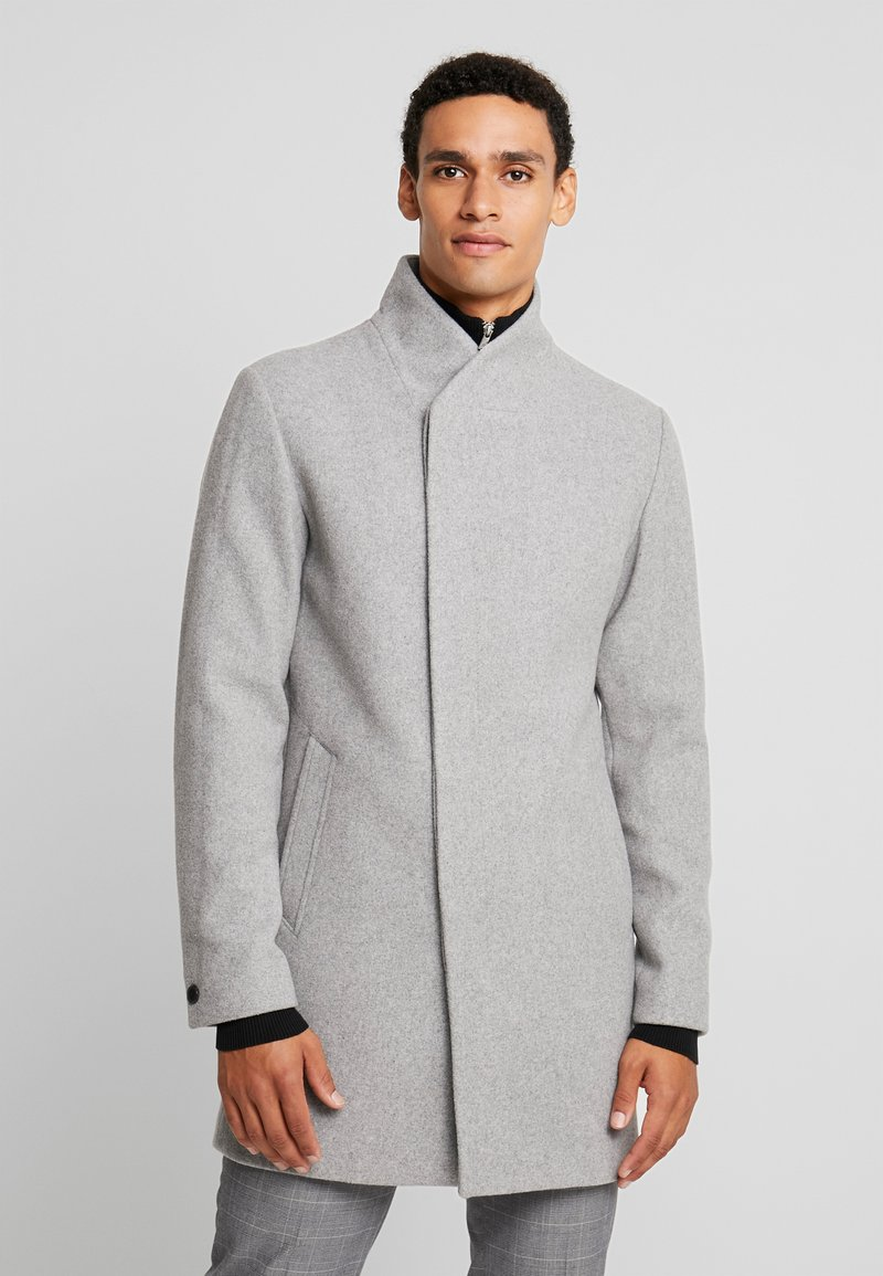 Jack & Jones PREMIUM - JPRCOLLUM - Short coat - light grey melange