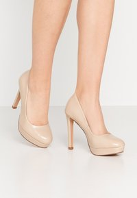 Even&Odd Wide Fit - High Heel Pumps - nude - 0