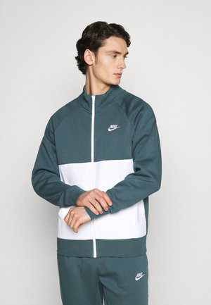SUIT SET - Tracksuit - ash green/white