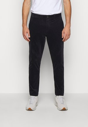 COMO PANTS - Bukse - dark navy