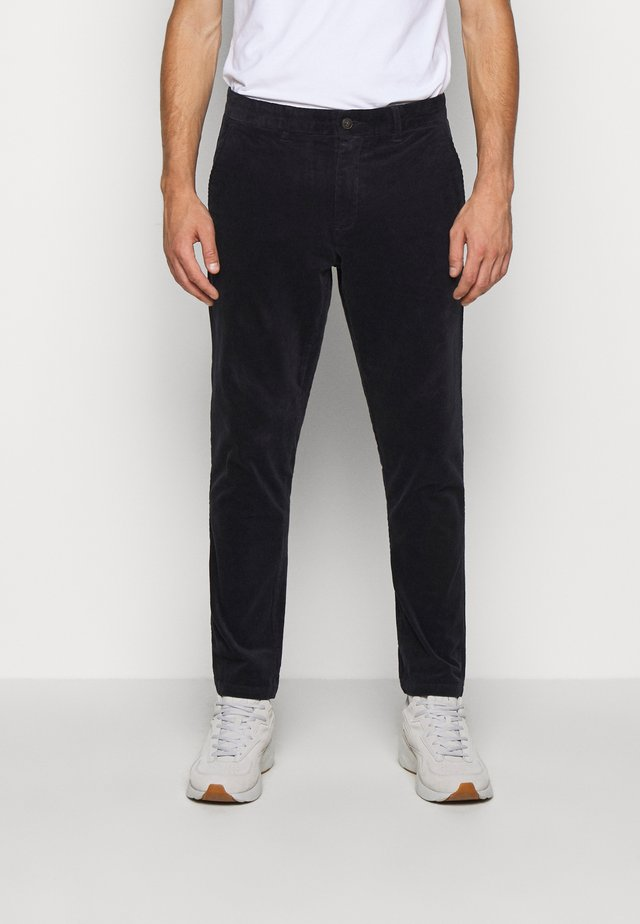 COMO PANTS - Bukser - dark navy