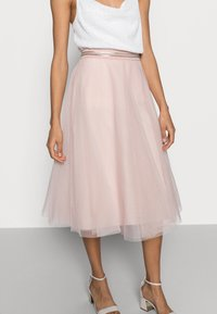 Esprit Collection - SKIRT - A-Linien-Rock - nude - 3