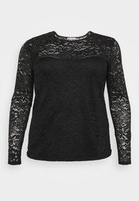 Anna Field Curvy - Long sleeved top - black - 0