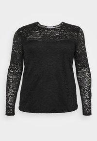 Anna Field Curvy - Pitkähihainen paita - black - 0