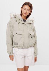 Bershka - Winter jacket - green - 0