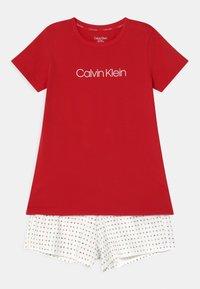Calvin Klein Underwear - Pyjama set - rapid red/white - 0