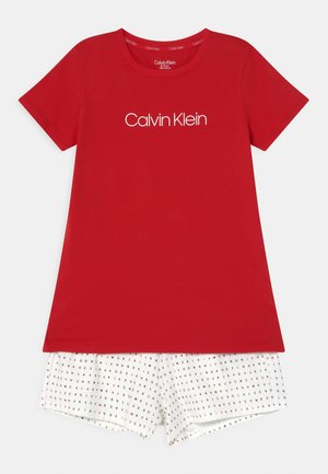 Pyjama set - rapid red/white