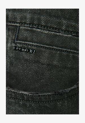 TEDIE ULTRA HIGH - Jeansshort - worn in tar black restored