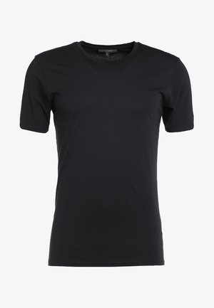 CARLO - Basic T-shirt - black