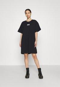 Diesel - D-BOWI-SMALLLOGO - Jersey dress - black - 0
