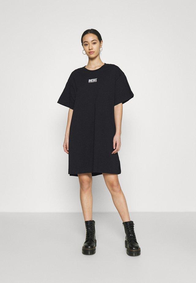 D-BOWI-SMALLLOGO - Vestito di maglina - black