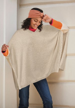 Poncho - off-white