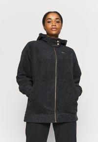 Nike Performance - COZY - Fleece jacket - black/metallic gold - 0