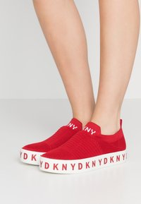 DKNY - BREA - Loafers - red - 0