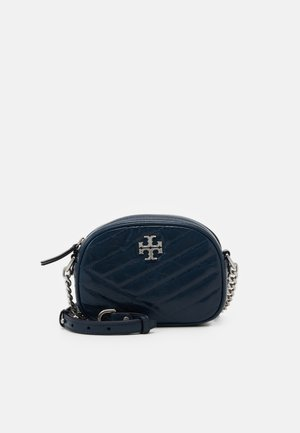KIRA CHEVRON TEXTURED SMALL CAMERA BAG - Sac bandoulière - federal blue