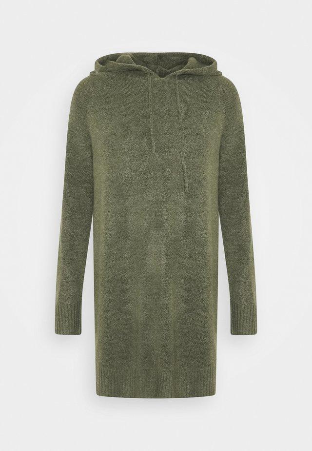 JDYANNE HOOD DRESS - Jumper dress - kalamata melange