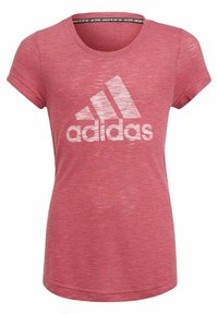 adidas Performance - Camiseta estampada - pink - 4