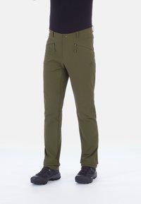 Mammut - MACUN - Spodnie materiałowe - iguana - 0