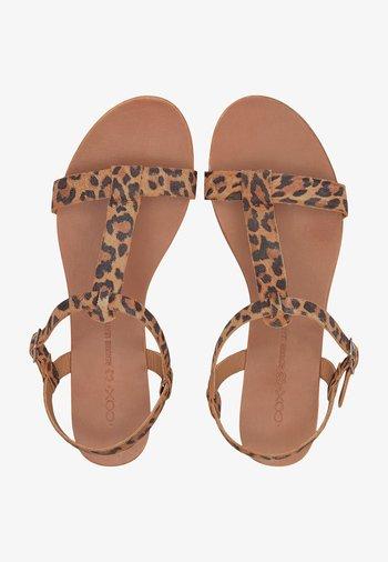 TREND - Sandals - dunkelbraun