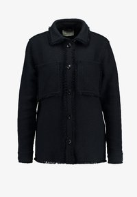 Samsøe Samsøe - ABIONA OVERSHIRT - Button-down blouse - black - 3