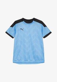 Puma - GRAPHIC - Print T-shirt - luminous blue/black - 2