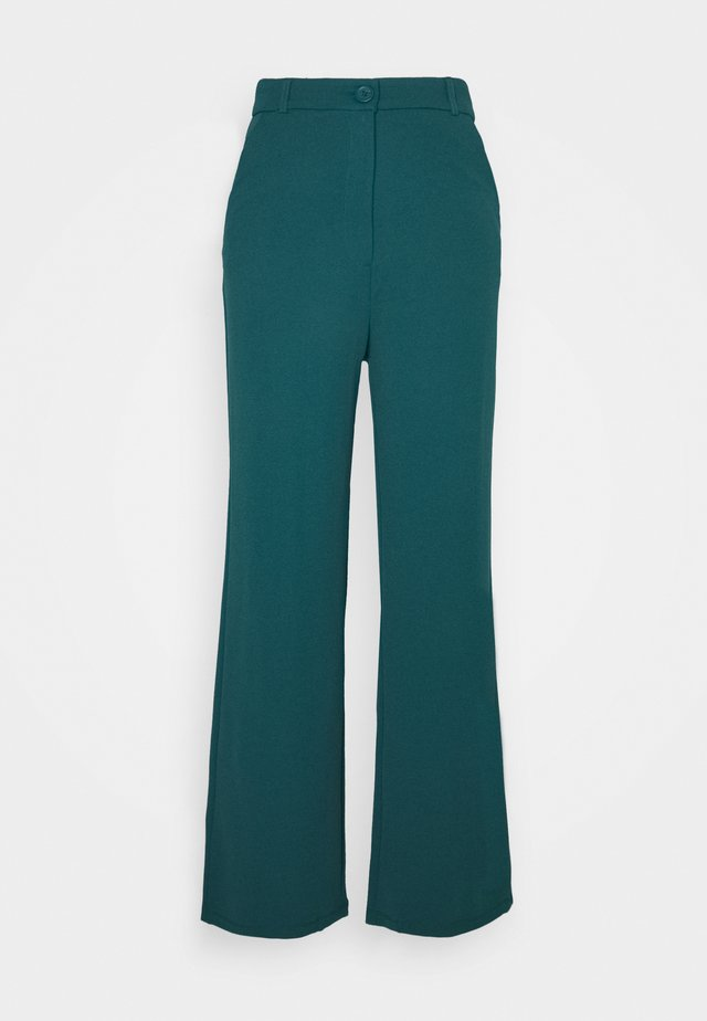 GISELLE WIDE PANTS - Pantaloni - atlantic deep