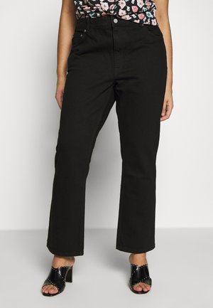 VOYAGE - Jeans relaxed fit - black