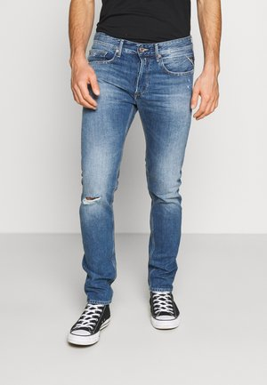 WILLBI - Vaqueros tapered - medium blue