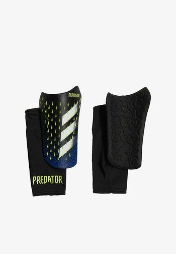 PREDATOR COMPETITION SHIN GUARDS - Shin pads - black