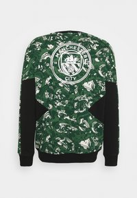 Puma - MANCHESTER CITY CREW - Club wear - silver/green - 1