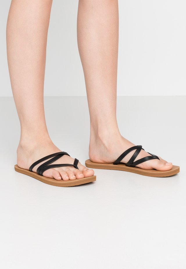 CARA - Teensandalen - black