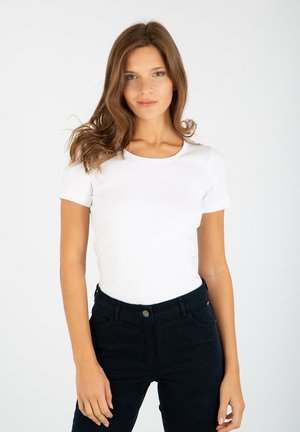 PLOGOFF - Basic T-shirt - blanc