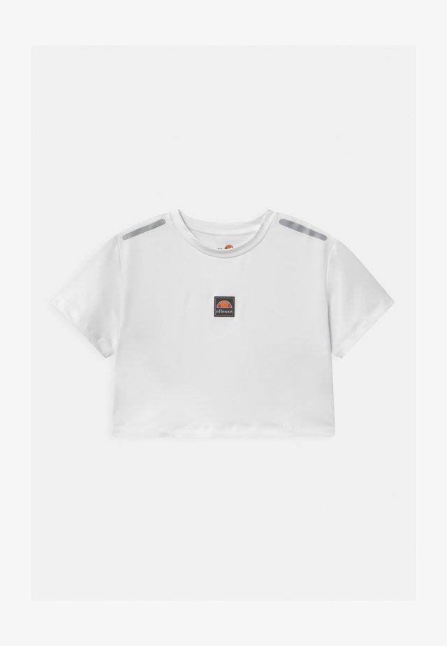 ASILI UNISEX - T-shirt imprimé - white