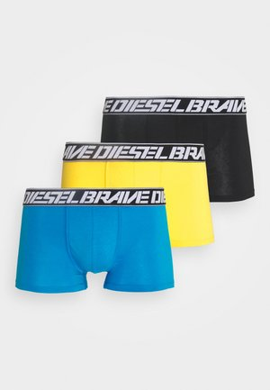 DAMIEN 3 PACK - Pants - yellow/blue/black