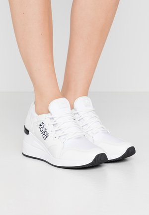 LIV TRAINER - Baskets basses - optic white