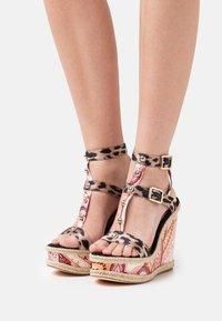 River Island - Platform sandals - pink/medium - 0