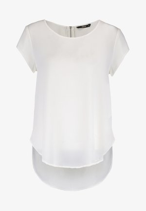 ONLVIC SOLID  TOP - Blouse - cloud dancer