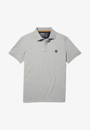 MILLERS RIVER - Poloshirt - medium grey heather