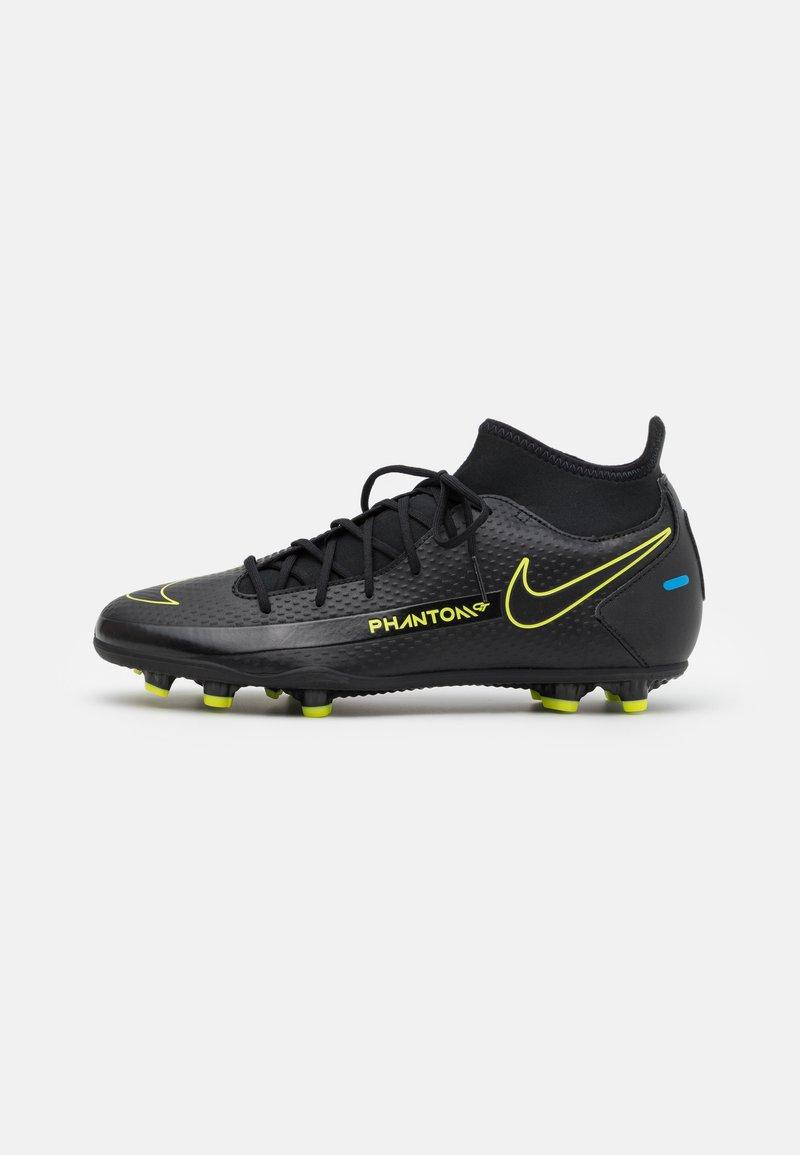 Nike Performance - PHANTOM GT CLUB DF FG/MG - Moulded stud football boots - black/cyber/light photo blue
