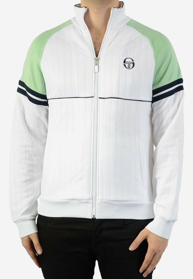 STAR TRACKTOP - veste en sweat zippée - white