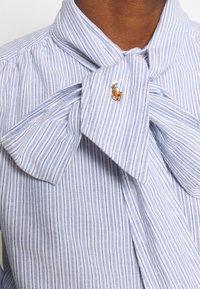 Polo Ralph Lauren - LONG SLEEVE BUTTON FRONT SHIRT - Camicetta - blue multi - 5