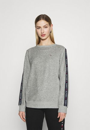 AUTHENTIC TEXTURE TRACK - Pyjama top - mid grey heather