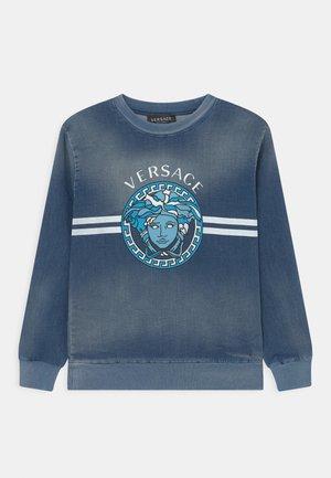 LOGO MEDUSA - Sweatshirt - blu medio/azzurro/bianco